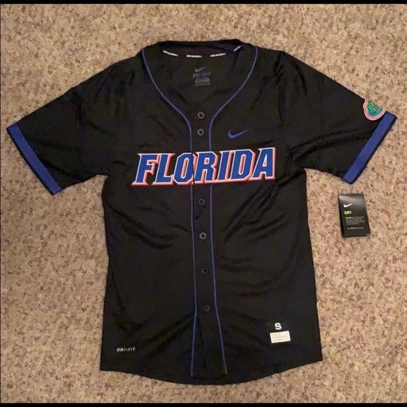 promo code eb8f4 5f858 Florida Gators Men's Baseball Jersey NWT